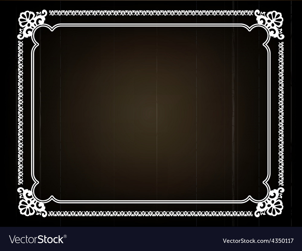 Old Movie Background Royalty Free Vector Image