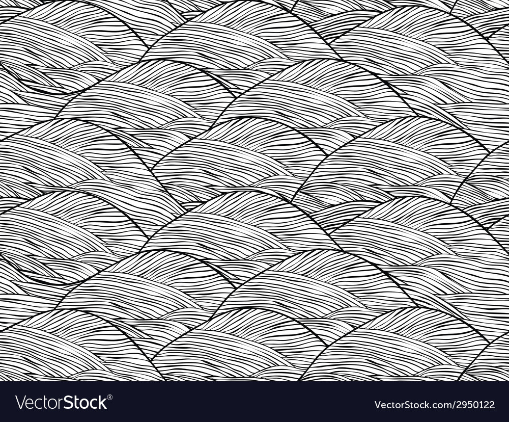 Abstract hand drawn seamless background pattern