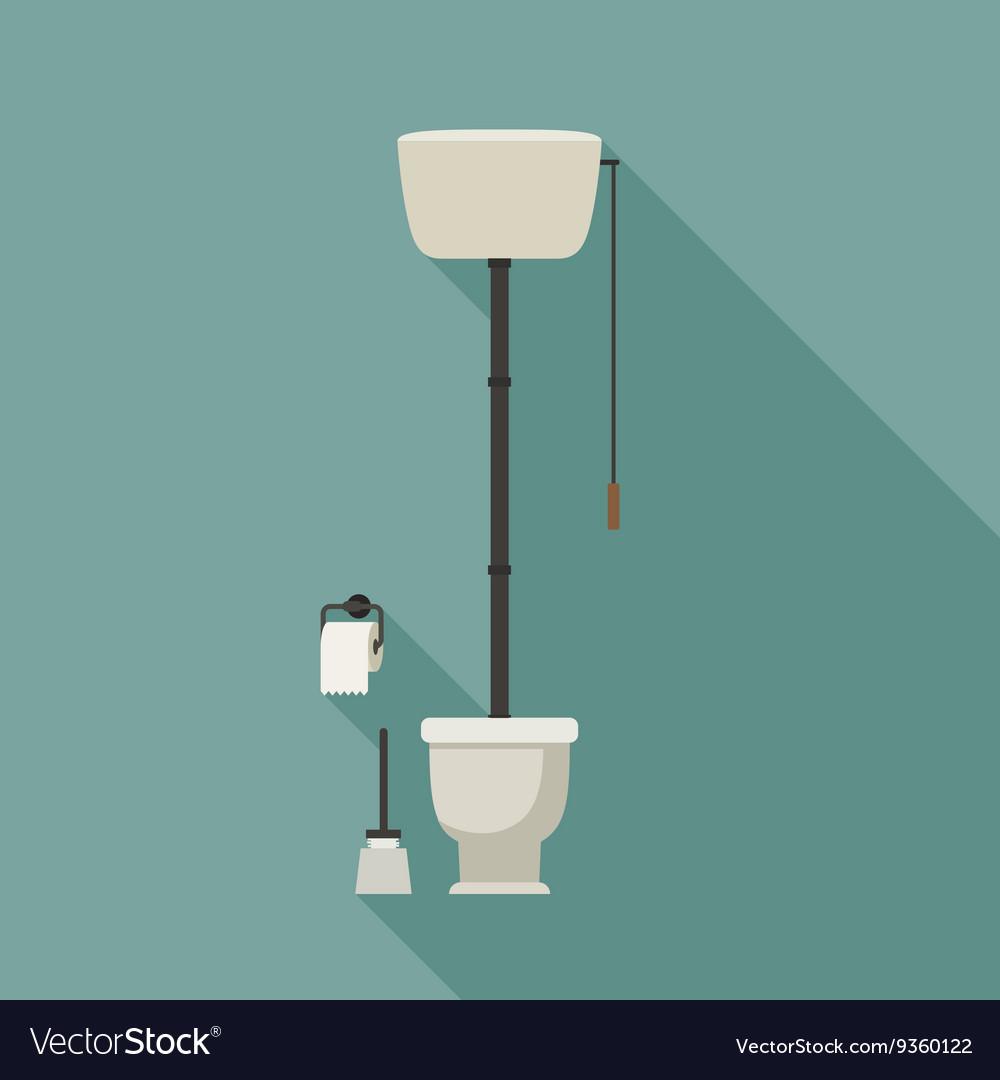 Retro Wc Pot.Retro Toilet