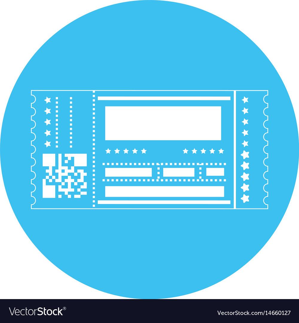 Entertainment ticket icon
