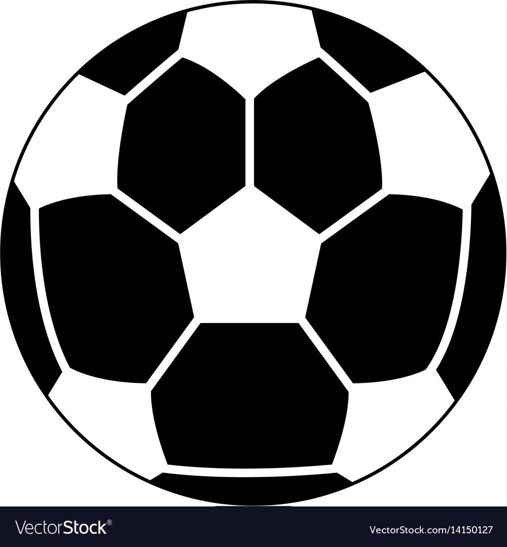 Soccer or football ball icon image vector image