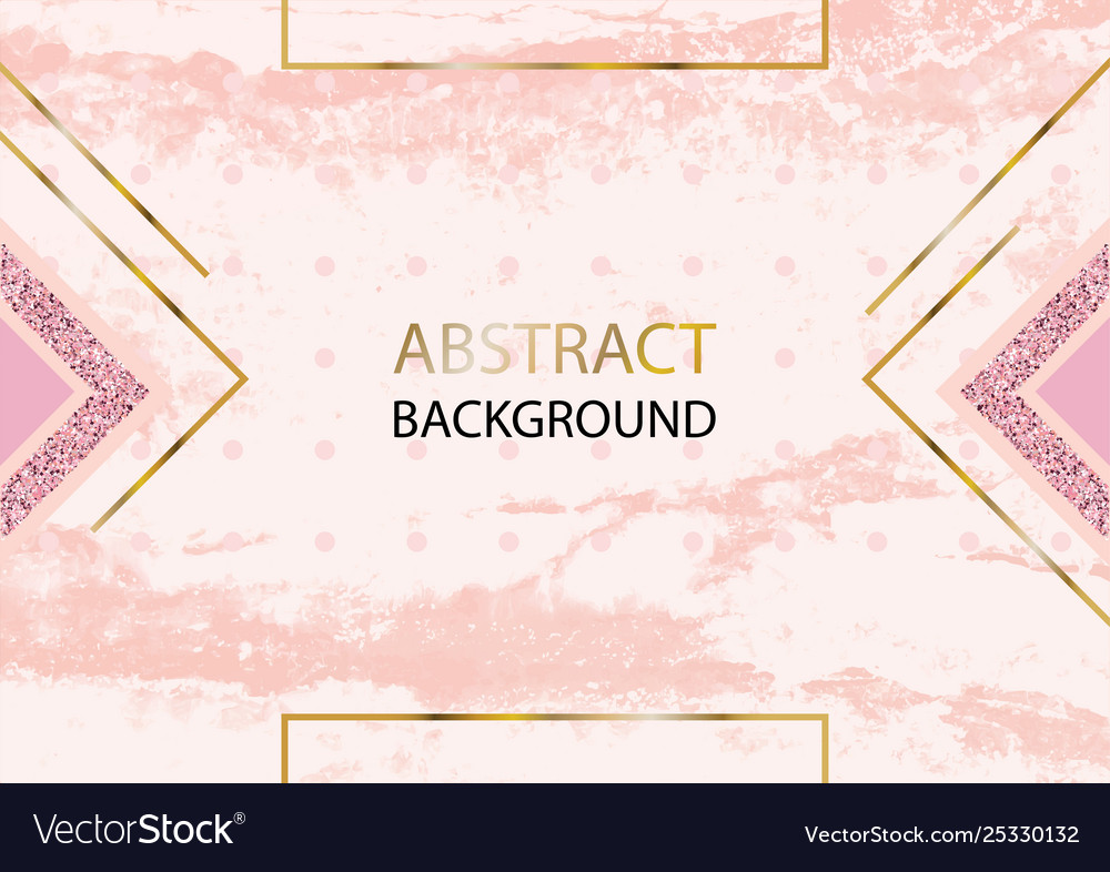 Pink Gold Marble Background For Wedding