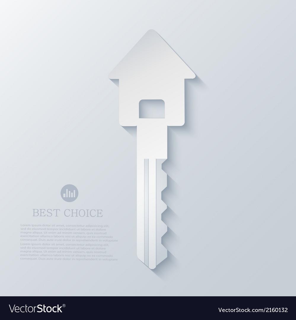 Real estate icon background Eps10