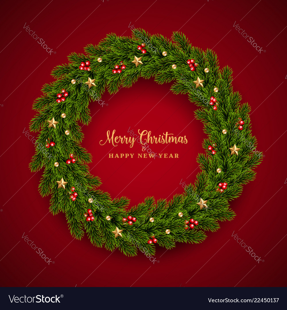 Christmas fir background realistic look holiday