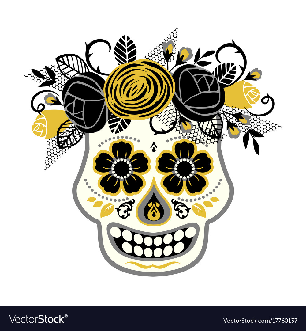 Dia de los muertos day of the dead design