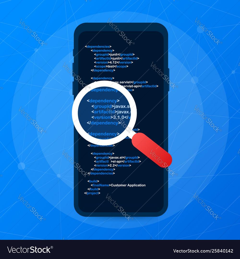 Application testing software development workflow
