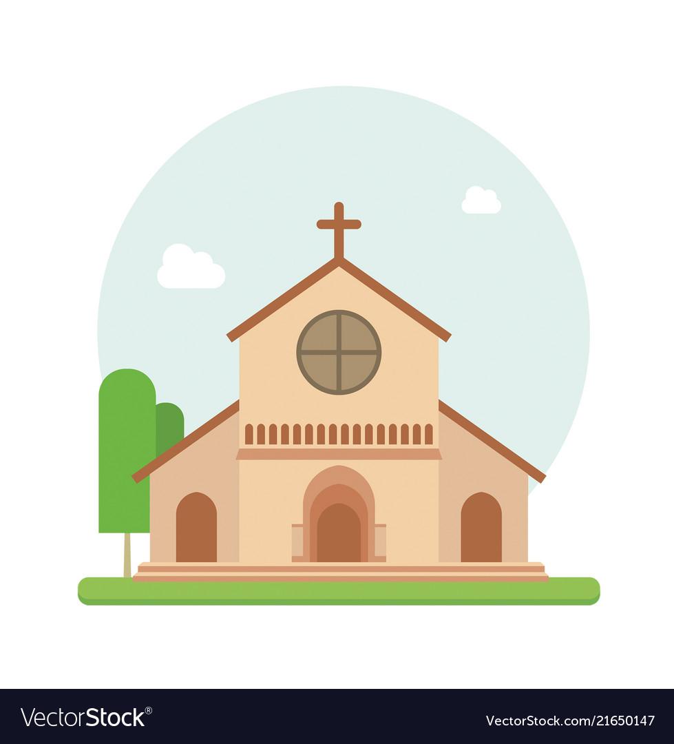 Christian church flat
