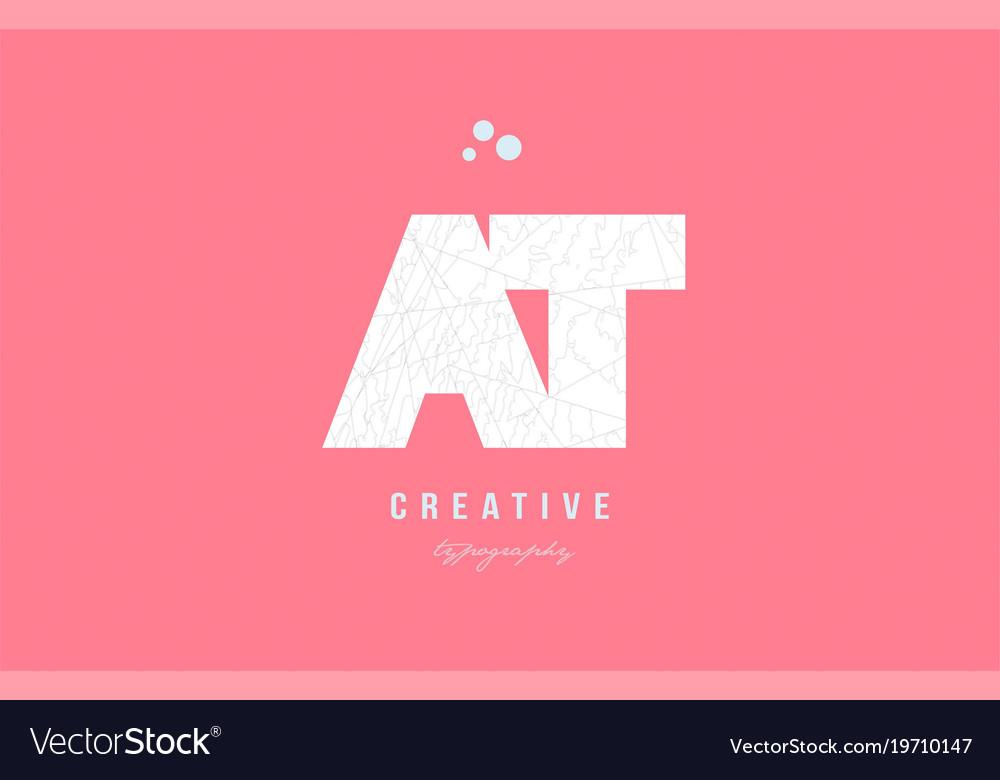 Design of alphabet letter logo combination