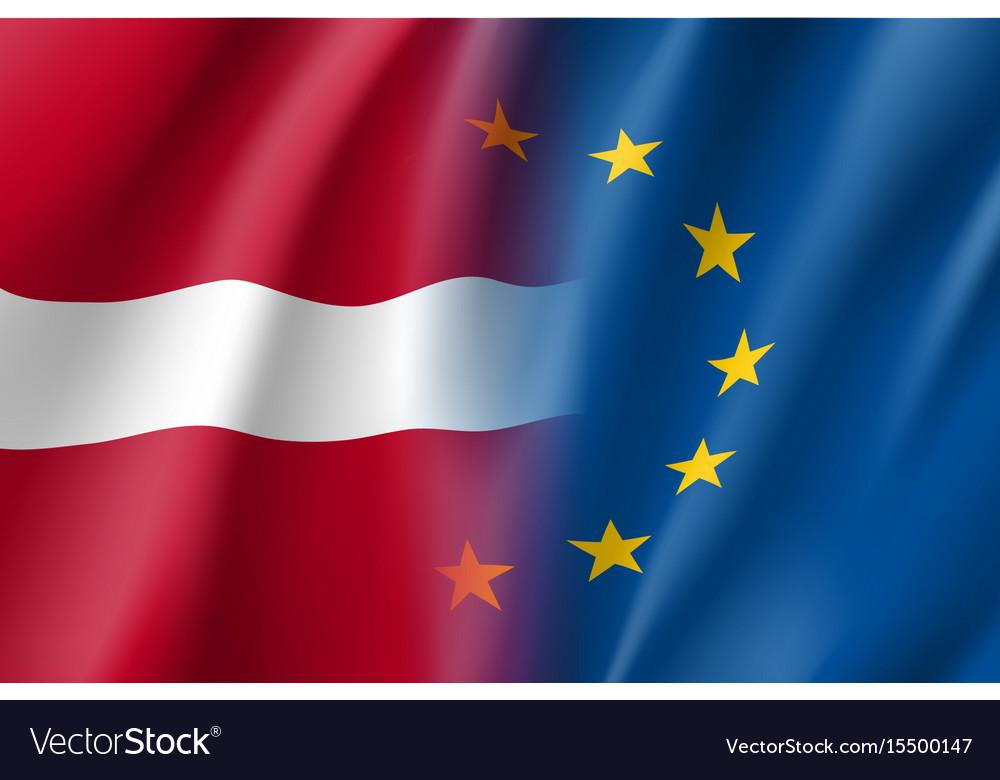 Symbol latvia is eu member