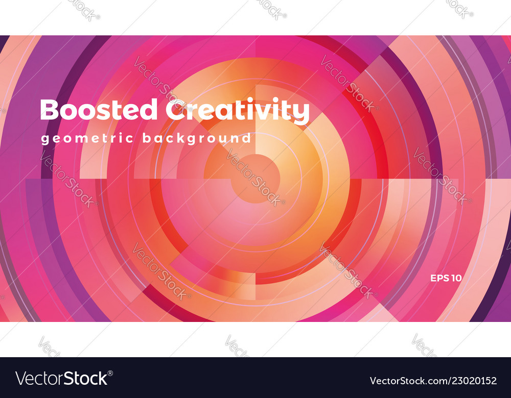 Abstract geometric background colorful futuristic