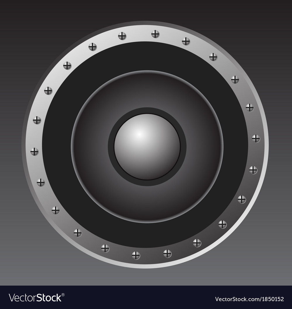 Audio Speaker vector image