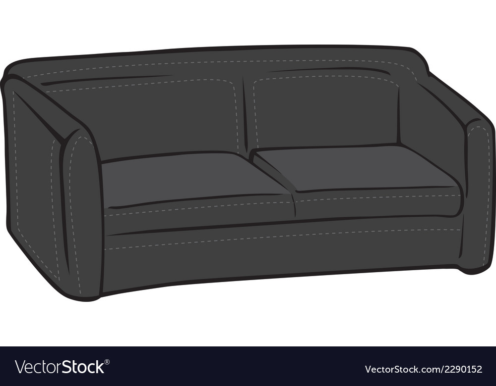 Black Leather Royalty Free Vector Image
