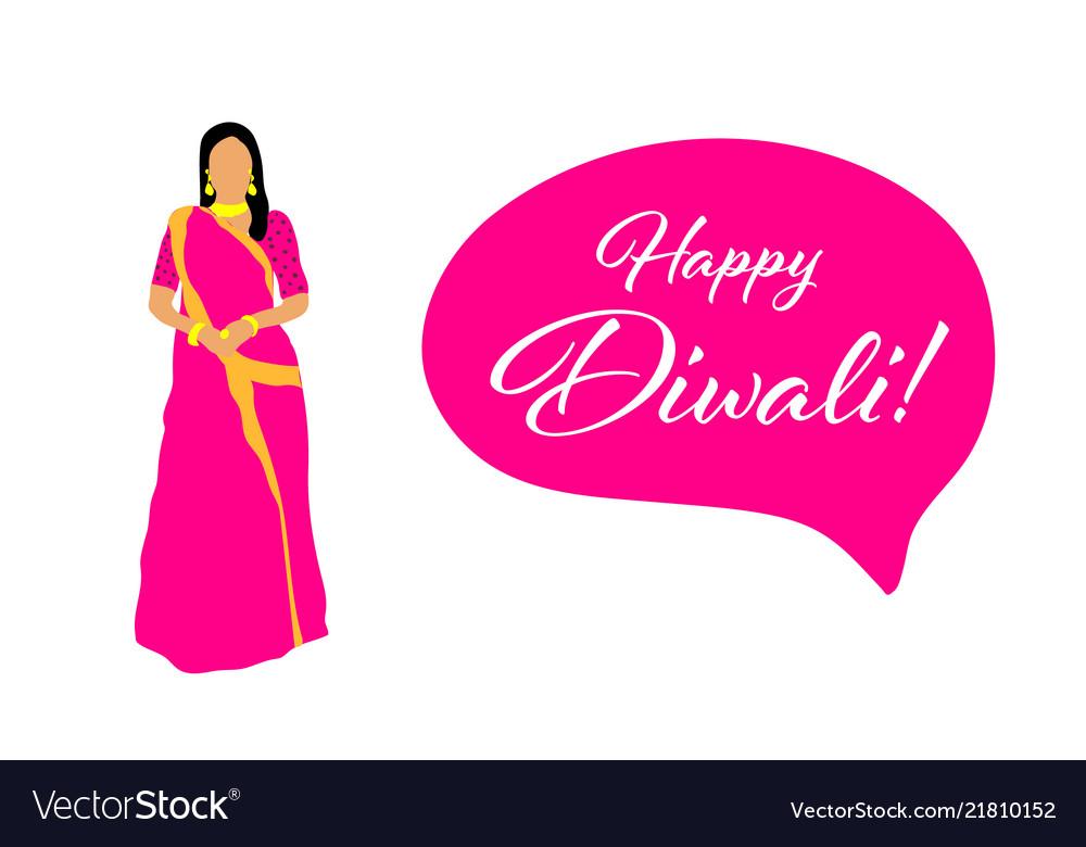 Creative diwali festival template design happy