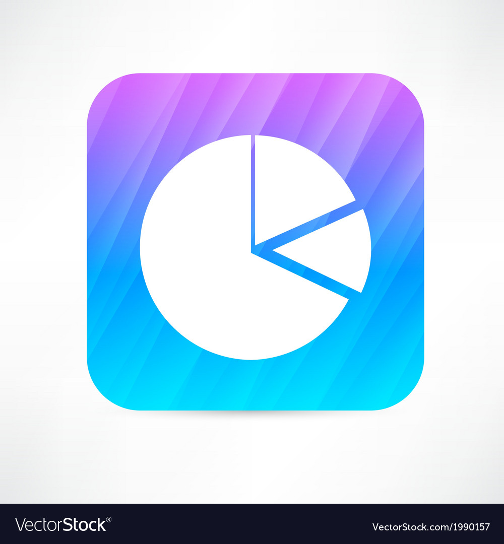 Diagram pie icon