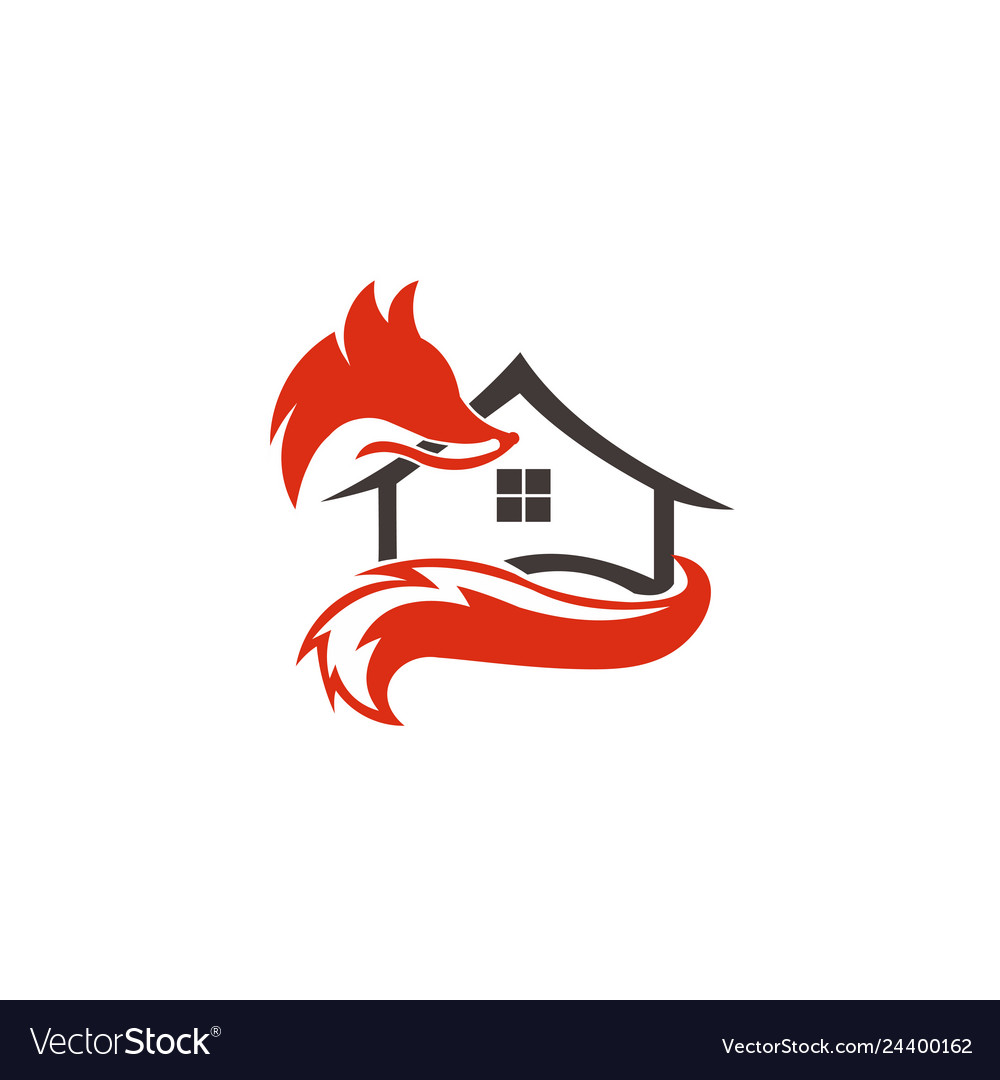 Animal fox real estate home