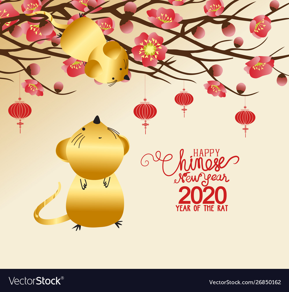 Chinese New Year Background 2020 Free