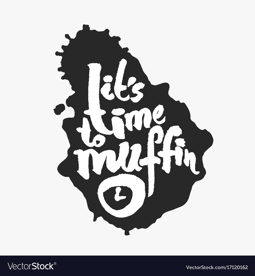Its time to muffin in an ink blot
