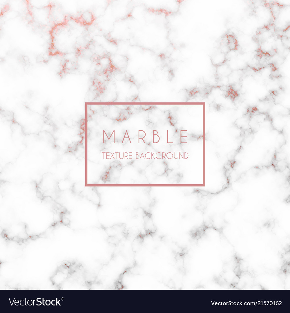 Rose Gold Marble Texture Royalty Free Vector Image