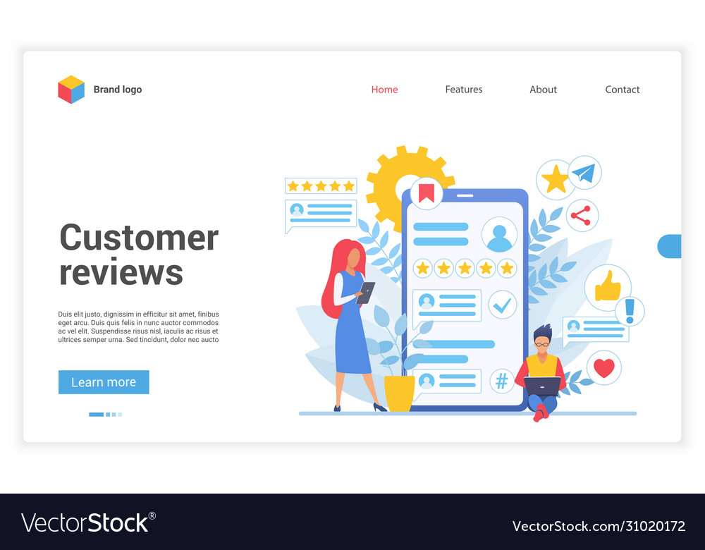 Customer people review