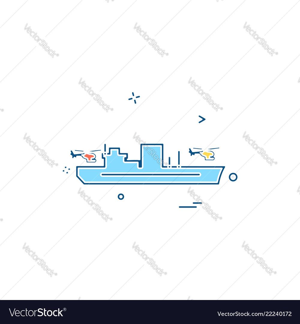 Navy icons design