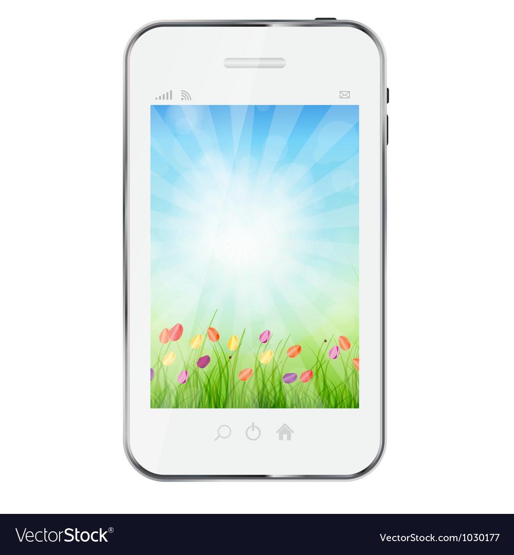A ecologic mobile phone concept
