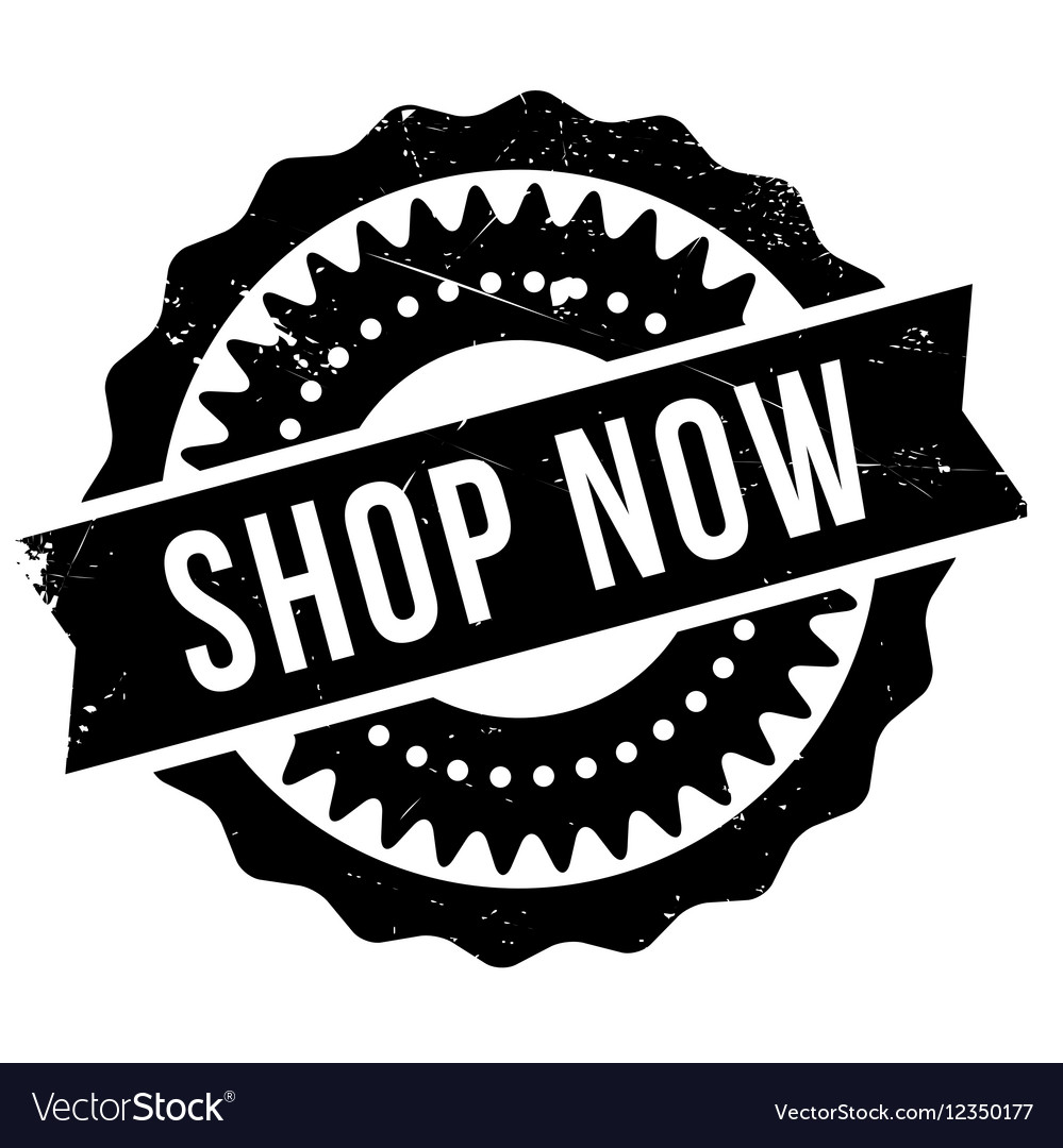 Shop now stamp