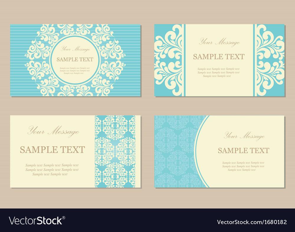 Vizit cards4 blue