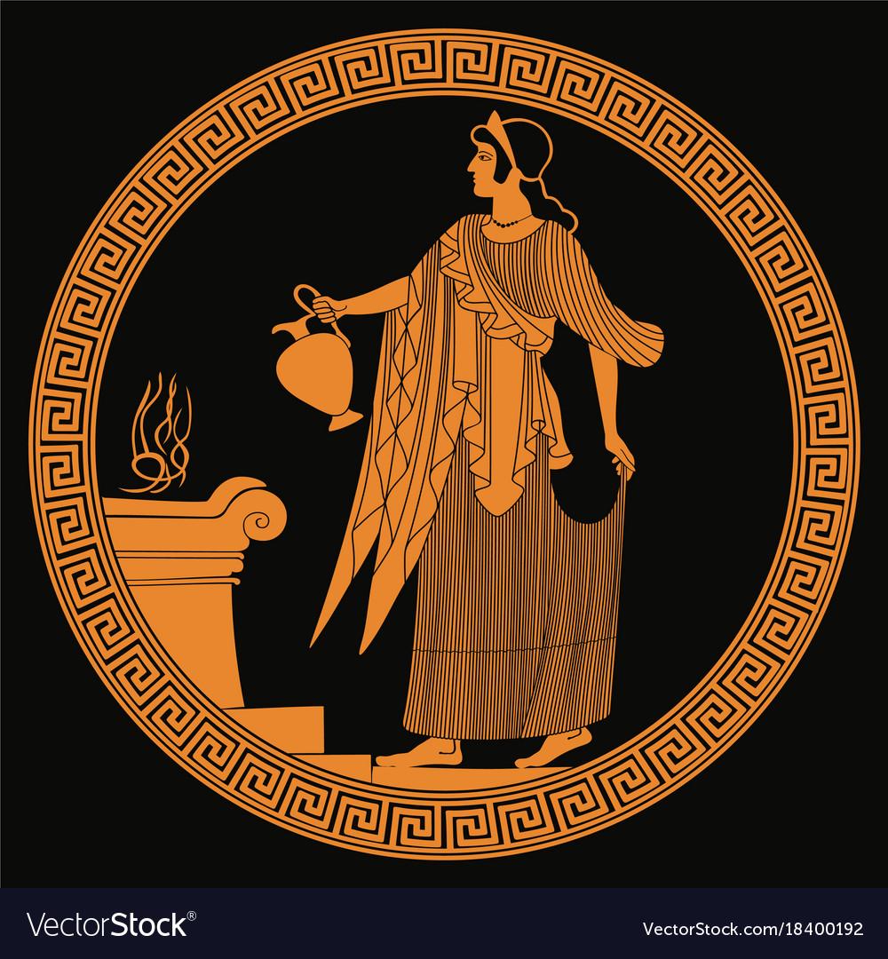 место чтобы греческие богини картинки на вазах устроила борту
