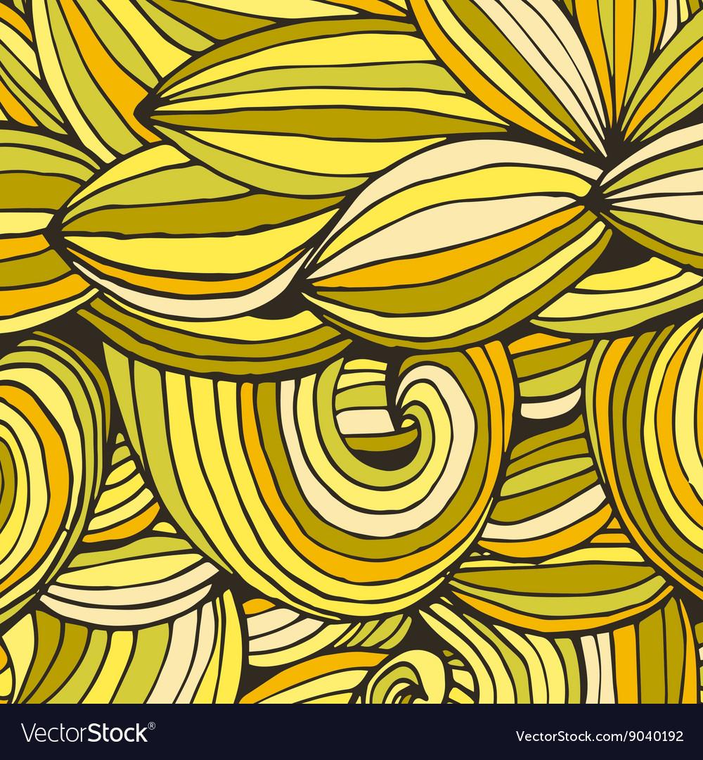 Color doodle background lines