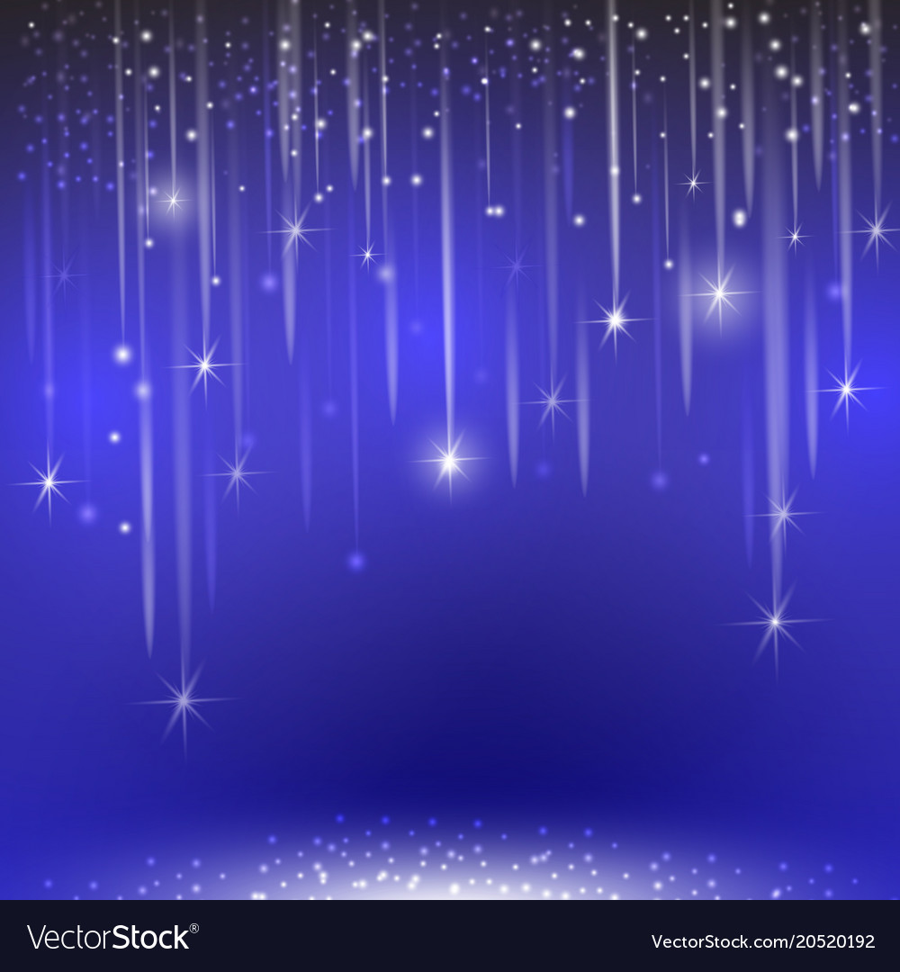 Glowing glitter light effects isolated realistic