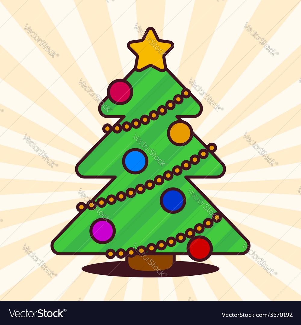 Kawaii Christmas.Kawaii Christmas Tree