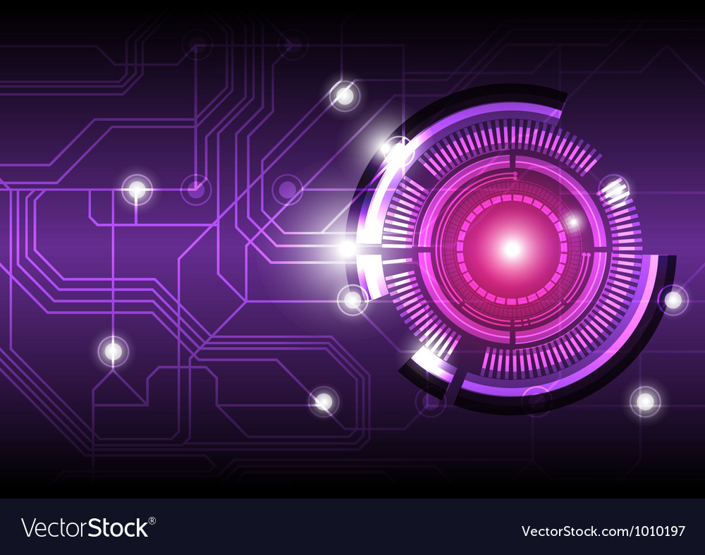 future digital button design background royalty free vector vectorstock