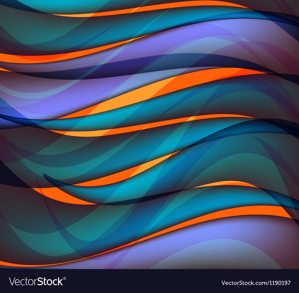 Water wave abstract background vector image