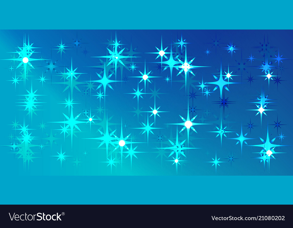 Blue background with blue stars