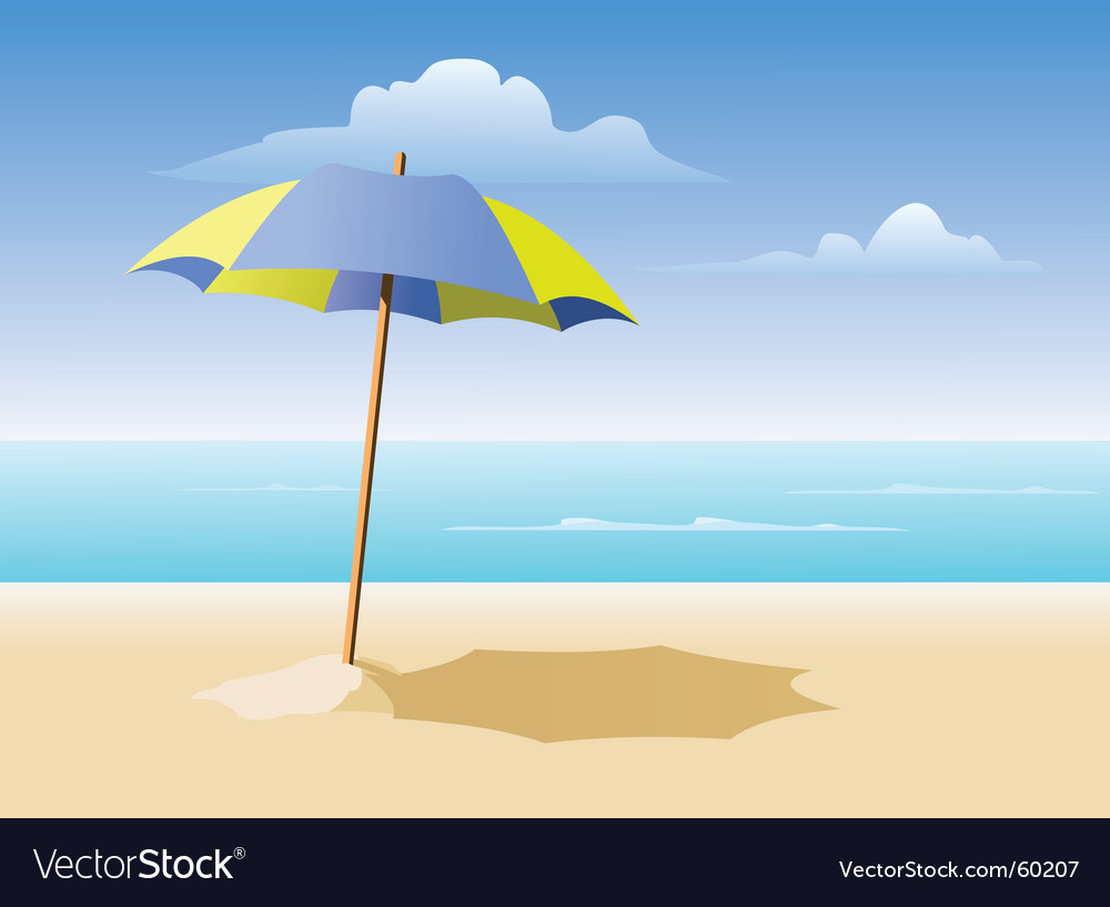 Beach Royalty Free Vector Image