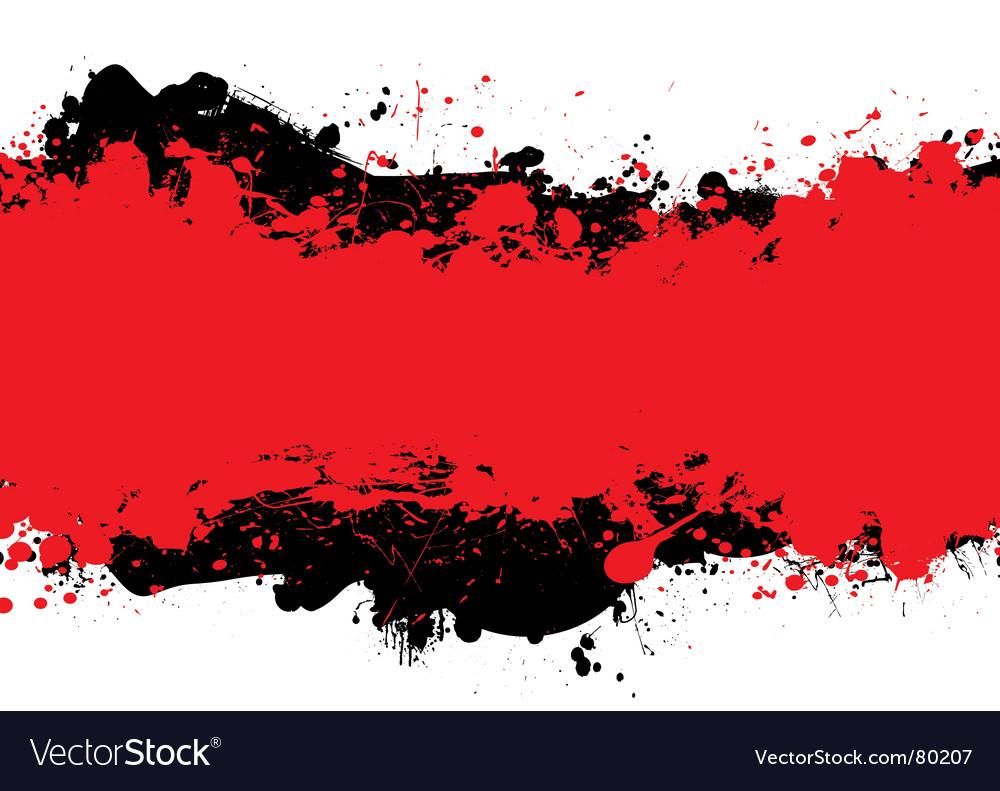 Red n black ink