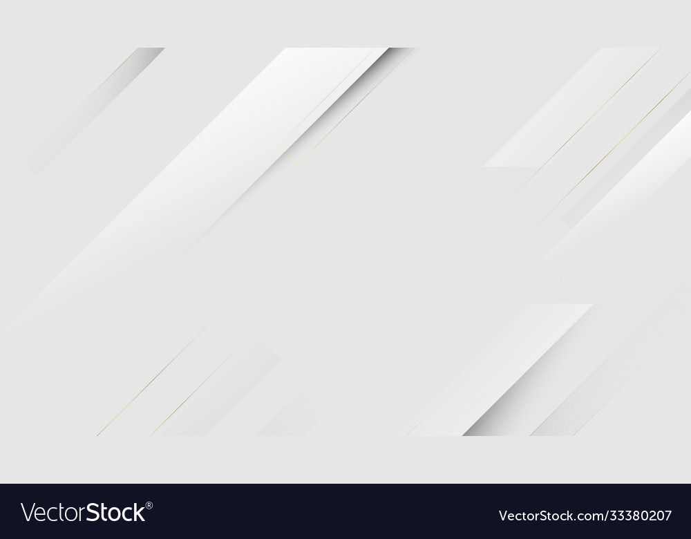 White square shape abstract technology concept