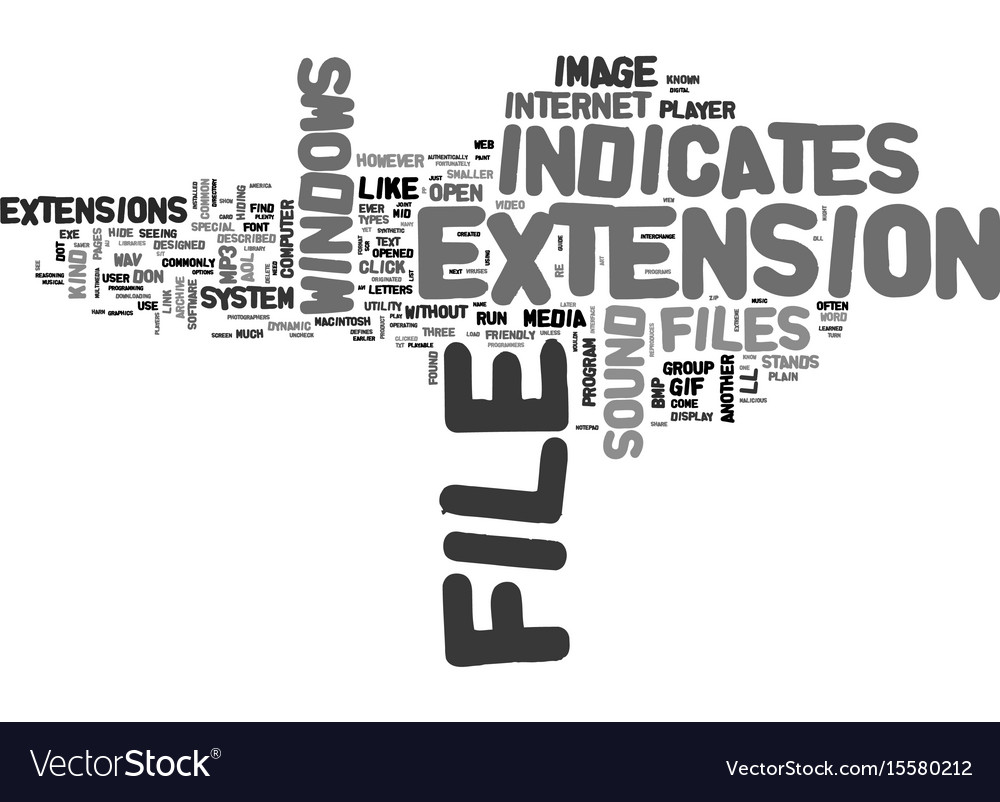 Whats that file text word cloud concept vector image