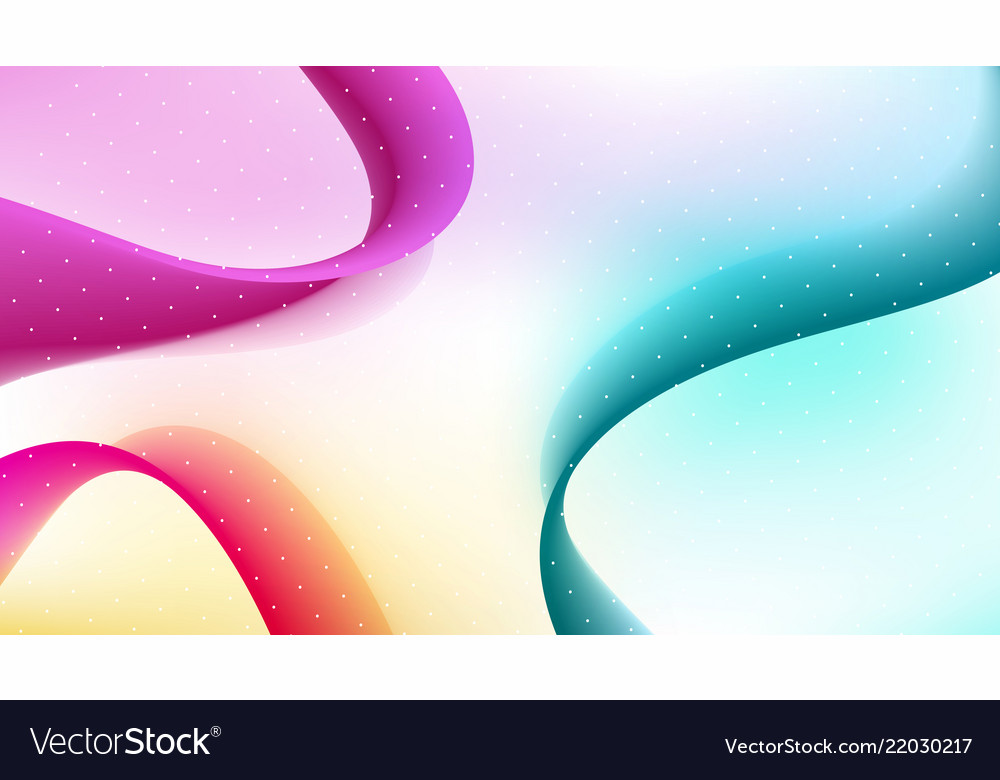 Abstract curved lines background template