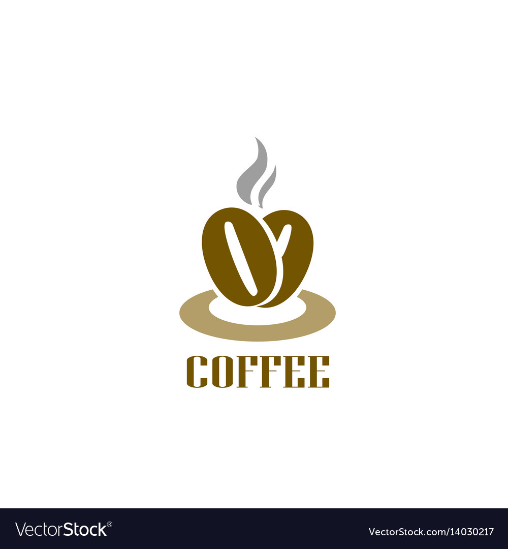 Coffee Logotype Hot Coffee Beans Logo Cafe Food