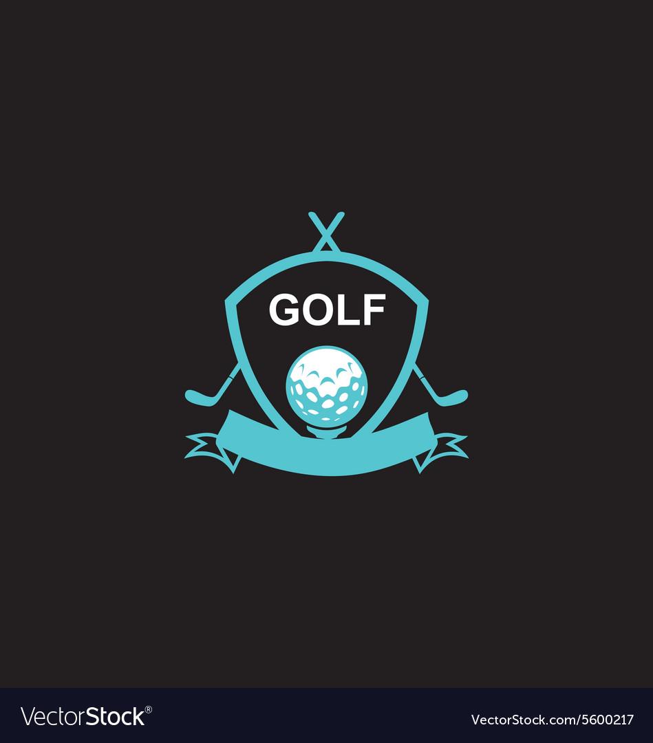 Golf emblem tournament logo