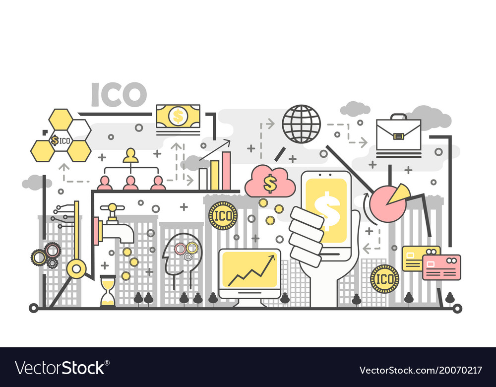 Initial coin offering concept