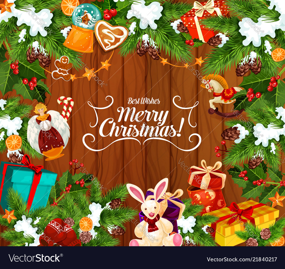 Merry Christmas Wishes Greeting Cards.Merry Christmas Best Wishes Greeting Card