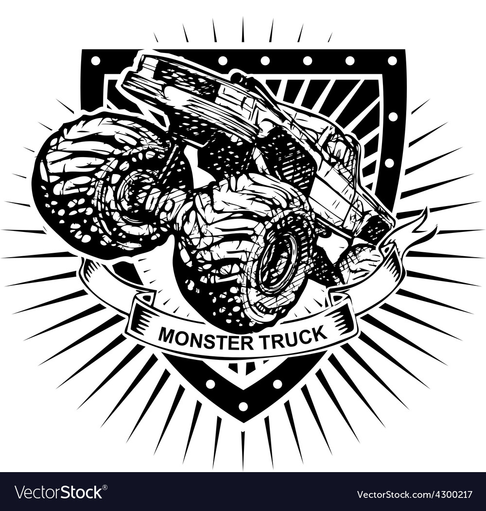 Monster truck shield