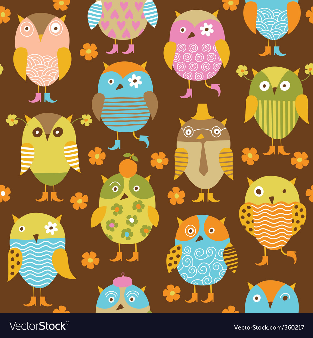 Pattern with birds