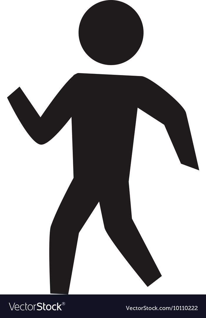 Pictogram person silhouette action icon