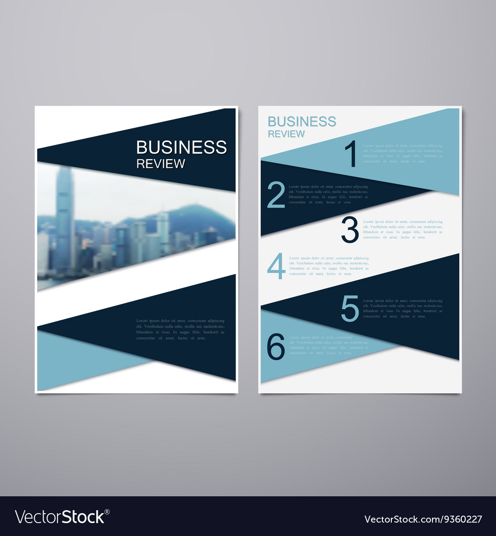 Business Review Brochure