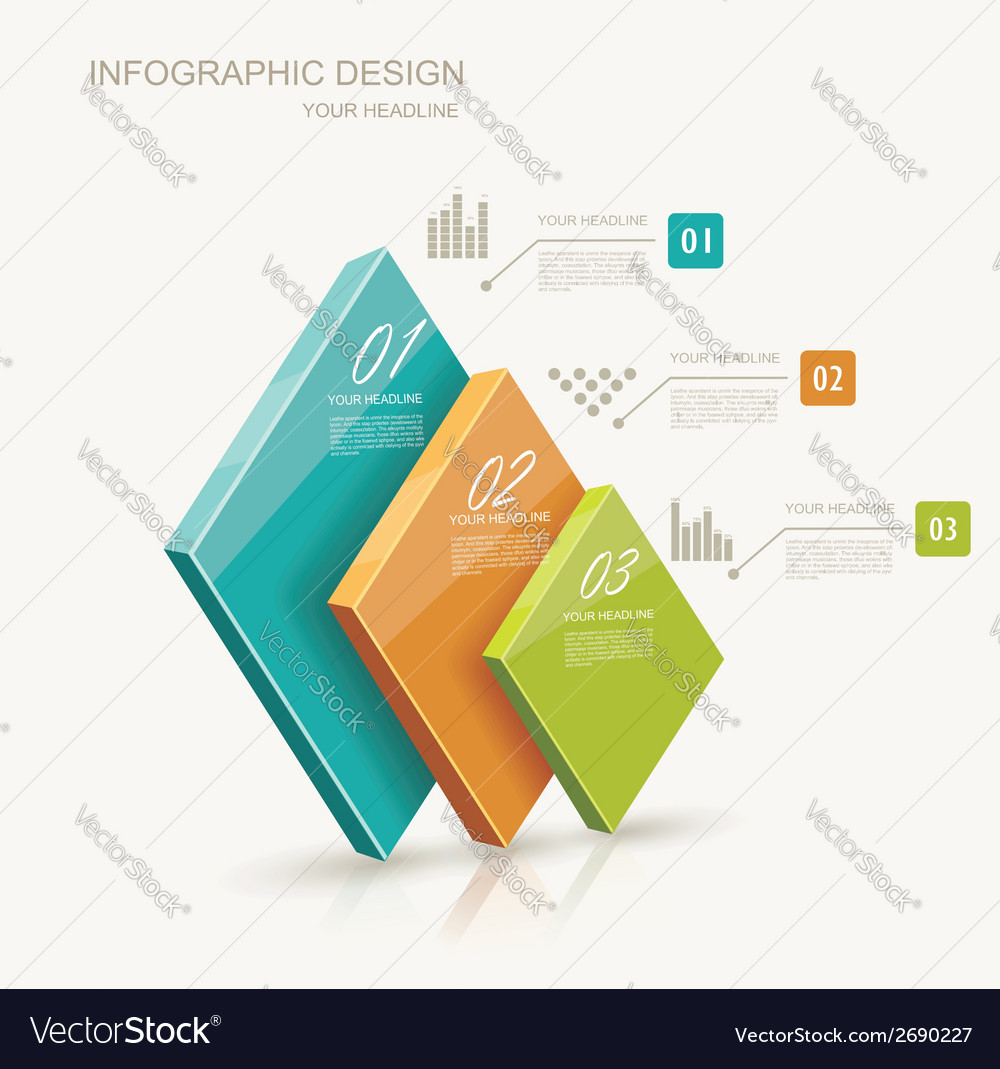 Modern infographics set Diagram and Time Line