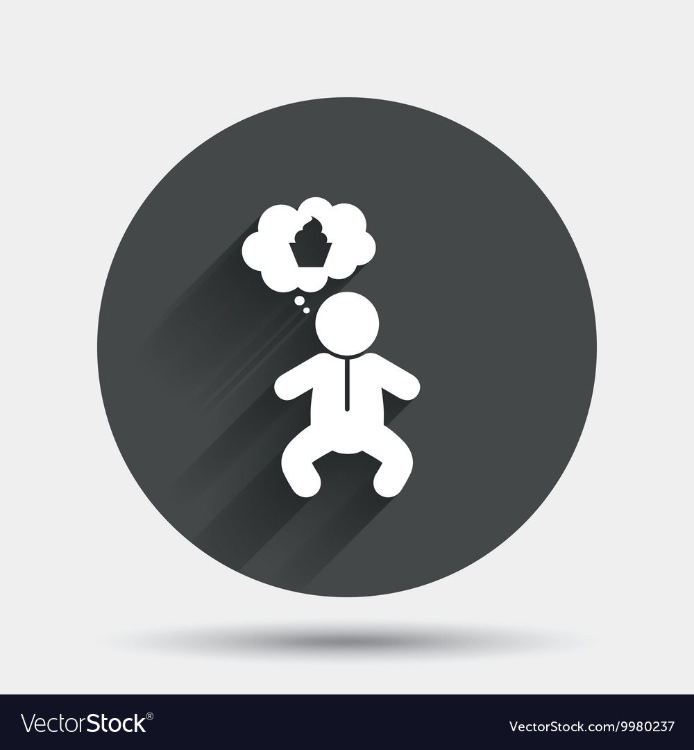 1bf896d20 Baby infant sign icon Toddler boy symbol Vector Image