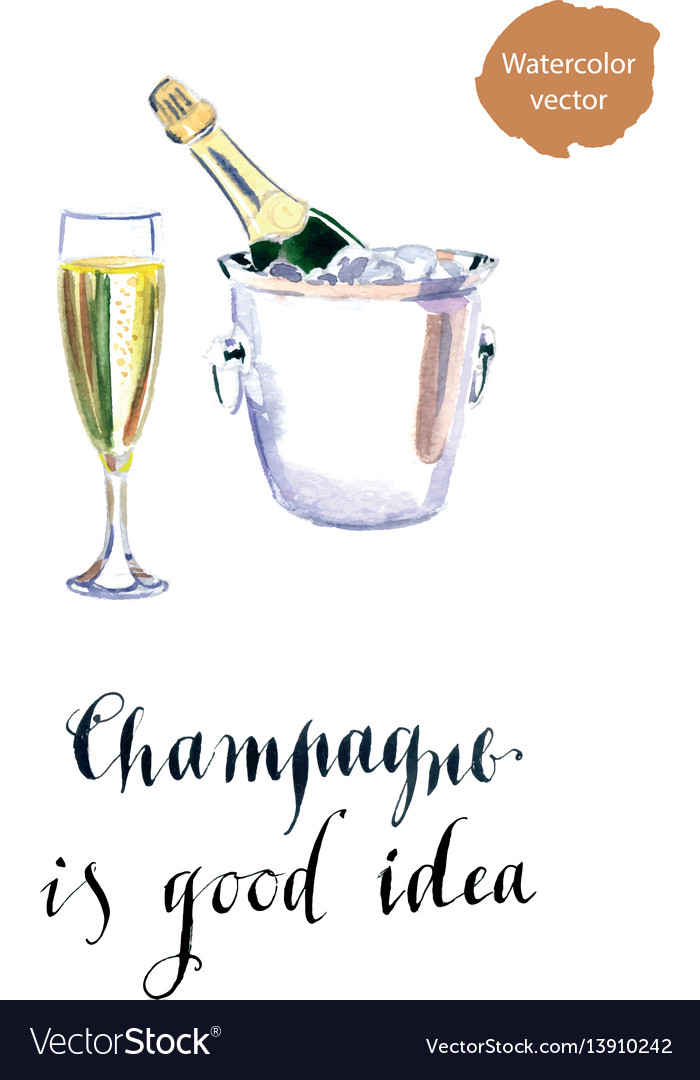 Champagne is good idea